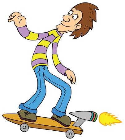 booster: turbo skateboard