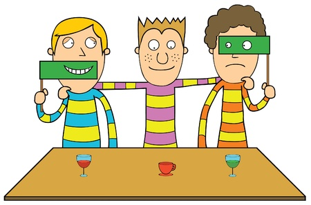dressing up party: Be yourself Illustration