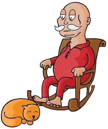 Oldman su gato