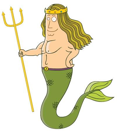poseidon: king of mermaid