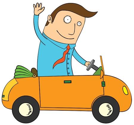 fast driving: Mini Car