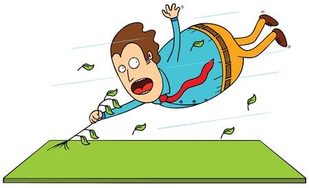 gripping: typhoon Illustration