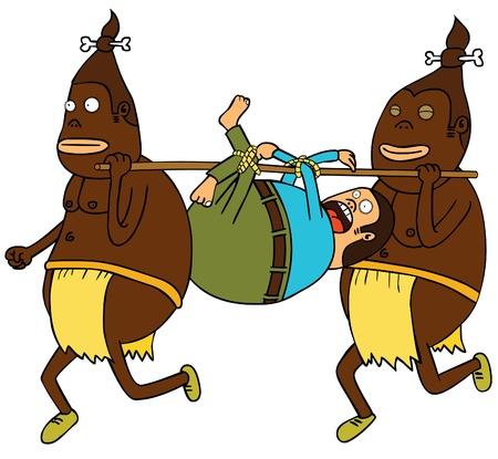 canibal Ilustra��o