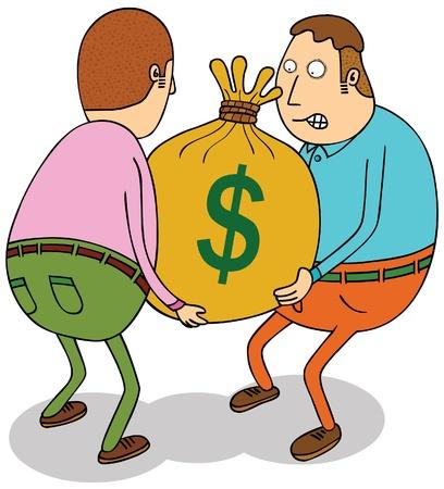 money couriers Vector