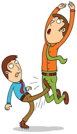groin: deadly kick