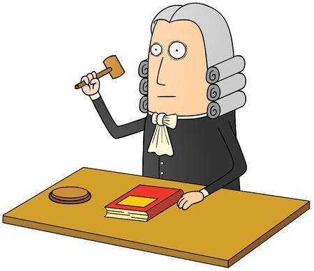 judge Stock Vector - 17925273