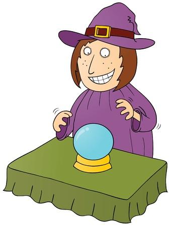 fortune teller: fortune teller