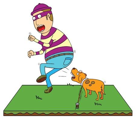 despacio: seguridad perro