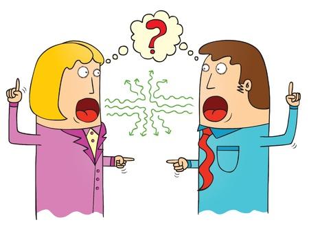 on the comprehension: miss communication Illustration