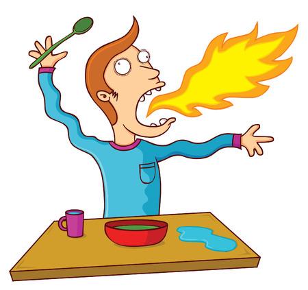 food poison: hot food