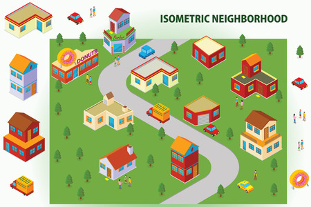 villages: Isometric Neighborhood
