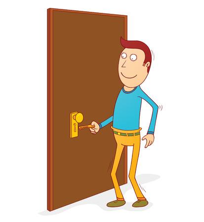 art door: unlocking the door