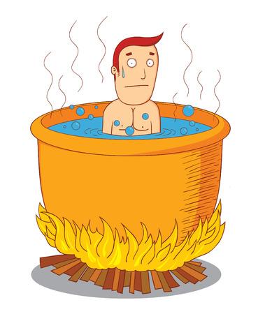 boil: boiled man