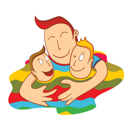 brotherhood: lovely father Illustration