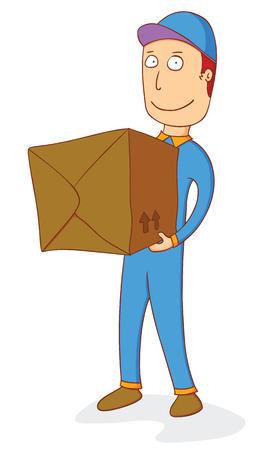 delivering: delivering order box