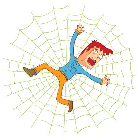 웹 거미에