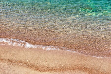 Clear Adriatic sea