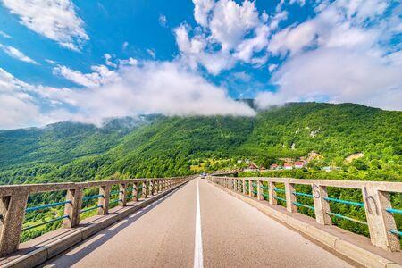 Road on Djurdjevicha bridge