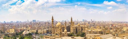 Sultan Hassan Mosque panorama