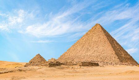 Pyramid of Menkaur Imagens