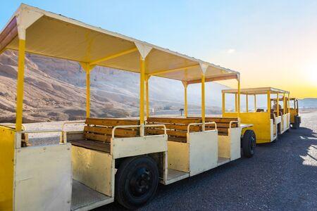 Touristic bus in Egypt