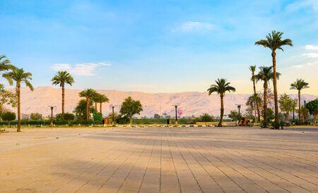 Square near Karnak temple
