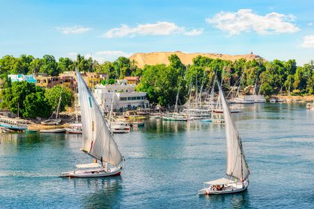 Sailing trip in Aswan