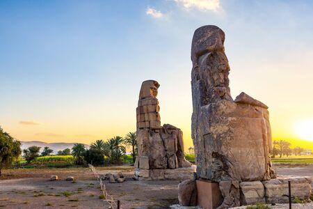 Singing Colossi of Memnon