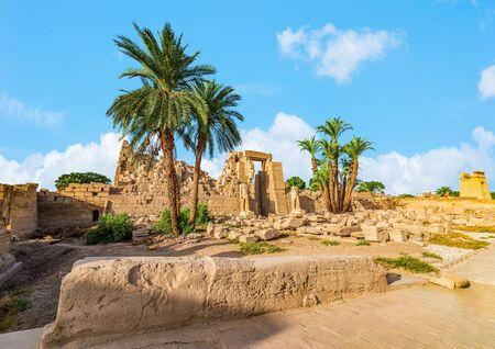 Ancient ruins of Karnak Temple