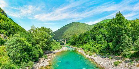 River Tara in mountains