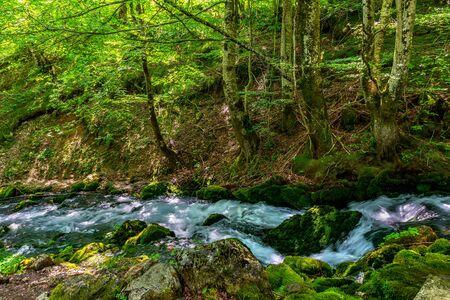 Cascade of river