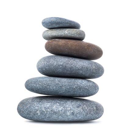 Pile of pebbles Standard-Bild