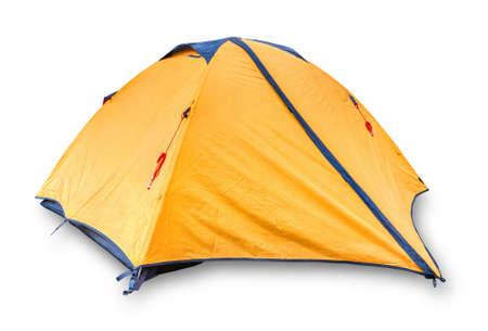Touristic tent isolated Standard-Bild