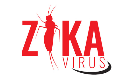 institutional: Vector Zika virus logo, symbol or sign. Illustrated Nature, Aedes Aegypti mosquitoes. Ideal for informational and institutional related sanitation and care. Health day