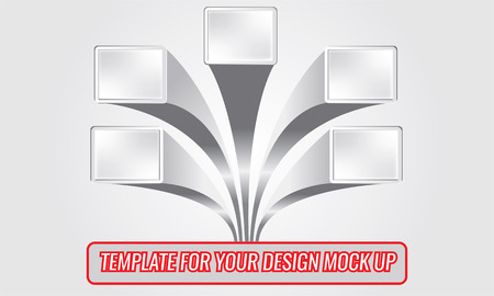 advertisment: Minimal vector layout flyer, poster, magazine cover, corporate or infographic design template advertisment mock up