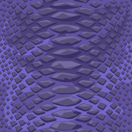 Snake skin seamless background. High detailed flat and solid color style vector illustration. 일러스트
