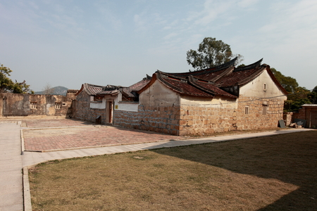 oldstyle: Chinas old-style country house. Editorial