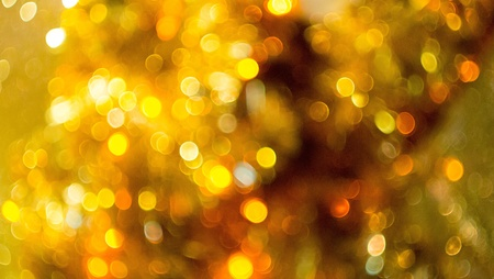 �gold: Bokeh Oro Foto de archivo