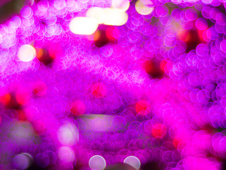 editable: abstract background pink bokeh circles for Christmas background