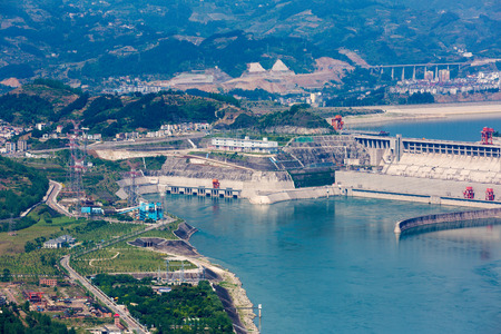 yichang: The three gorges underground power plant