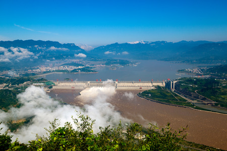 three gorges: The three gorges project