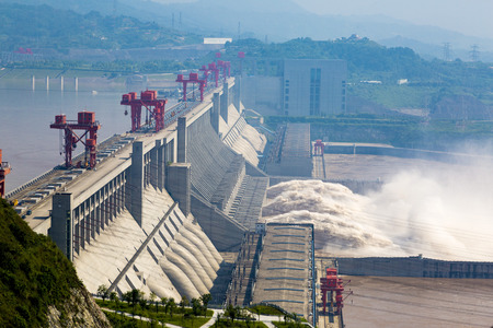 three gorges dam: The three gorges dam project
