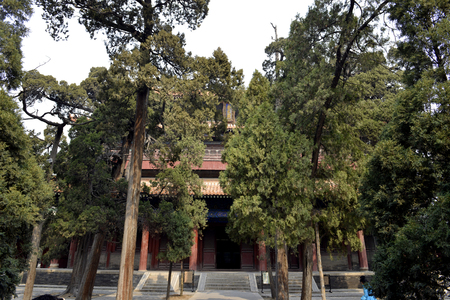 Kuiwen Hall at the Temple of Confucius, Qufu Editorial
