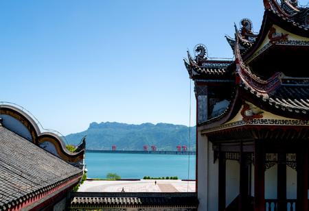 Qu Yuan Temple Stock Photo