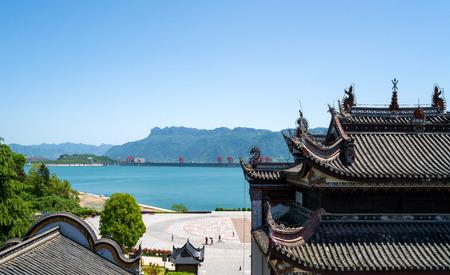 yichang: Qu Yuan Temple Stock Photo
