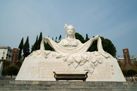 Leizu statue