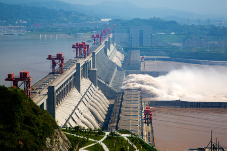 water's: Three Gorges Dam