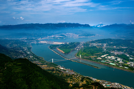 three gorges dam: Three Gorges Project