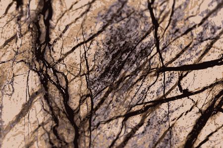sandstone: the texture of natural stone, sandstone, limestone, granite Illustration