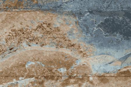 the texture of natural stone, sandstone, limestone, granite Stock Illustratie
